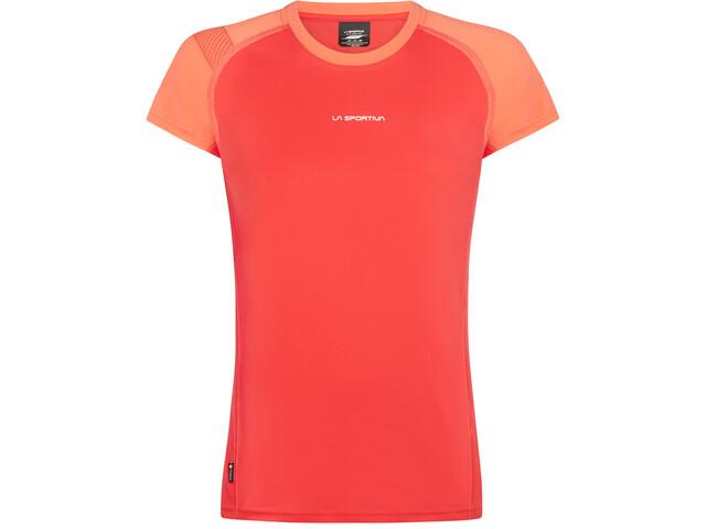 La Sportiva Move T-Shirt Donna, hibiscus/flamingo